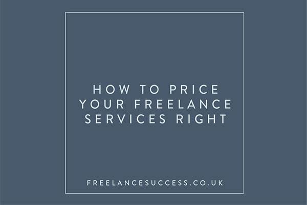 Pricing Freelance Services Right