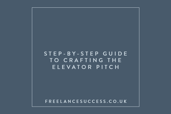 The Perfect Elevator Pitch Guide
