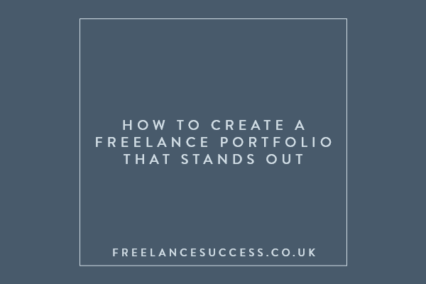 How to create freelance portfolio that stands out